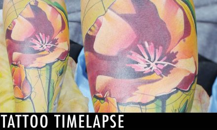 Tattoo Timelapse – Ivana Tattoo Art