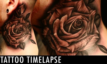 Tattoo Timelapse -Justin Burnout
