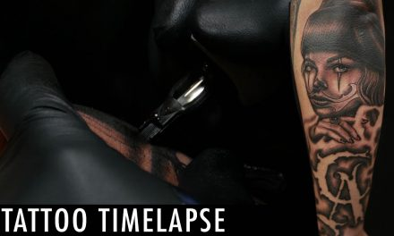 Tattoo Timelapse – Flaks and Niz Collaboration