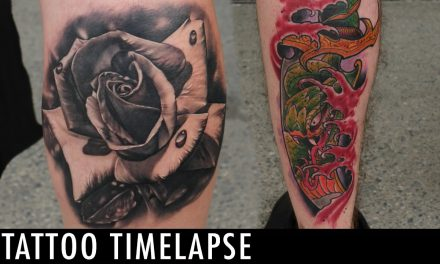 Tattoo Timelapse – Dual Time Lapse | Team Alla Prima