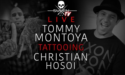 Live Tattoo | Tommy Montoya Tattooing Christian Hosoi