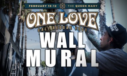 One Love Cali Fest Wall Mural
