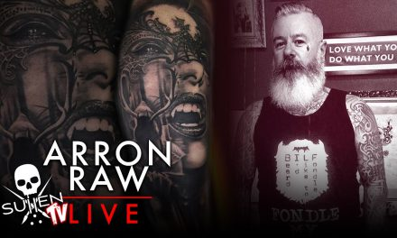 Sullen TV Tattoo Live Stream with Arron Raw