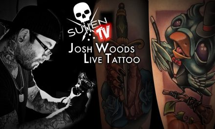 Josh Woods Live Tattoo