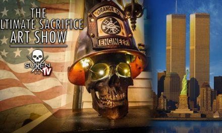 9/11 Fire Helmet Art Show – The Ultimate Sacrifice