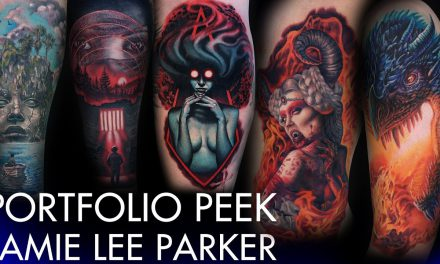 Tattoo Portfolio Peek – Jamie Lee Parker