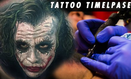 Tattoo Timelapse – Steve Butcher | Joker