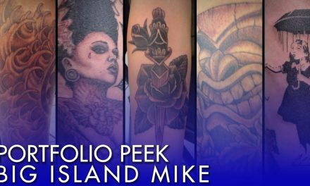 Tattoo Portfolio Peek – Big Island Mike