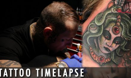 Tattoo Timelapse – RE WORK by- Arran Burton