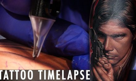 Star Wars Han Solo -Tattoo Time Lapse – Dave Paulo
