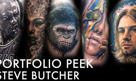 Tattoo Portfolio Peek – Steve Butcher
