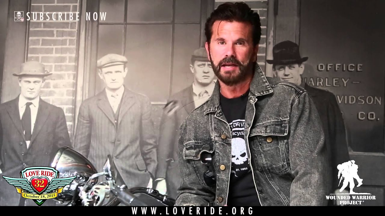 Lorenzo Lamas PSA for the LOVE RIDE – Wounded Warrior Project