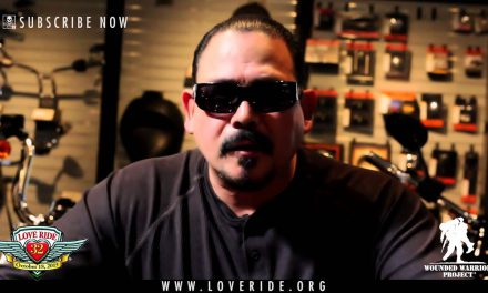 Emilio Rivera PSA on the LOVE RIDE – Wounded Warrior Project