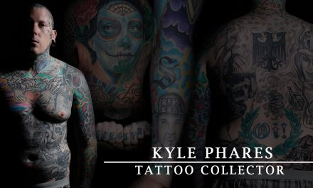 Tattoo Collector – Kyle Phares