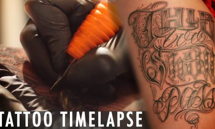 Tattoo Time Lapse  – Feel
