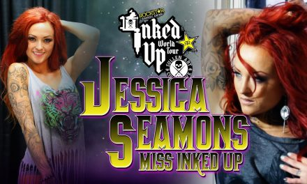 Jessica Seamons Miss Ink Up photoshoot with Nicole Caldwell