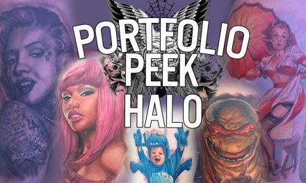 Tattoo Portfolio Peek – Halo