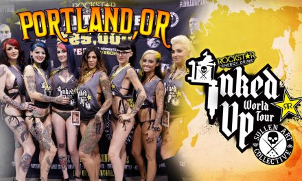 TATTOO CONVENTION COVERAGE – Rockstar Energy Miss Inked Up Portland