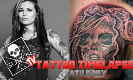 Tattoo Time Lapse – Tatu Baby – Tattoos Day of the Dead Girl