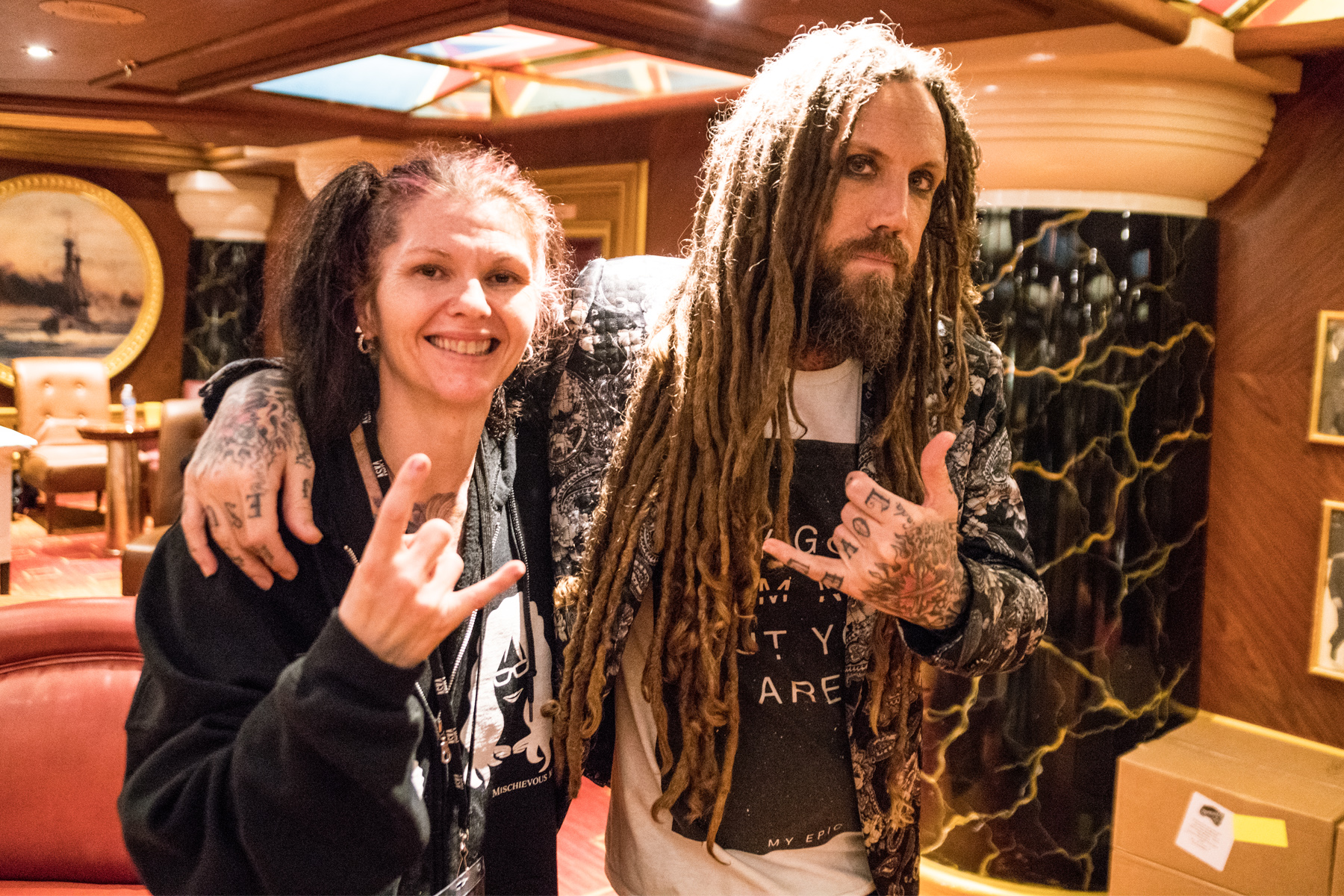 Exclusive Interview:  Brian Head Welch talks 'Loud Krazy Love' on Shiprocked '19