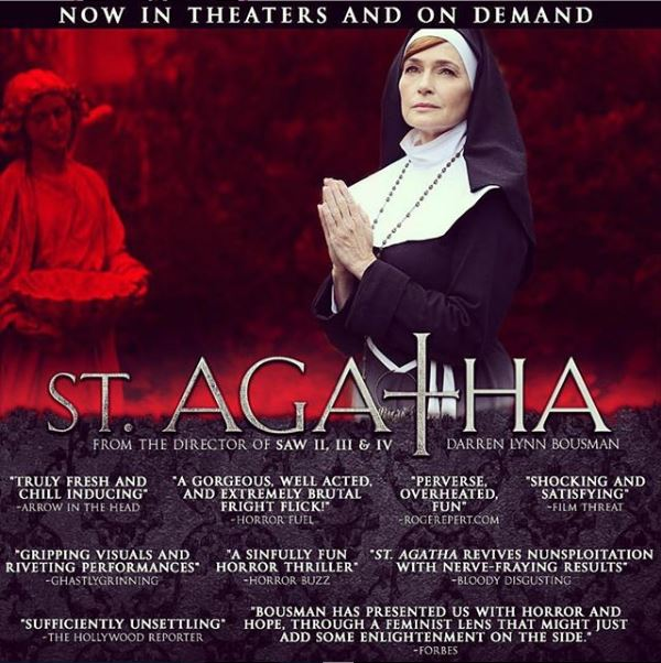 ST. AGATHA – Directed by Darren Lynn Bousman – Now in Theaters and On Demand