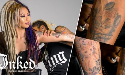 Kimmy Tan & Brian King Joseph's Tattoo Tour | INKED