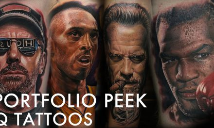 Tattoo Portfolio Peek – Q Tattoos
