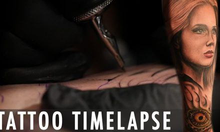 Tattoo Time Lapse – Rember Orellana