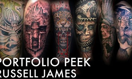 Tattoo Portfolio Peek – Russell James