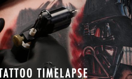 Star Wars Tattoo Time Lapse  – Darth Vader – Sirris Slay