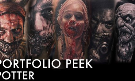 Tattoo Portfolio Peek – Potter