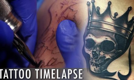Tattoo Time Lapse – Bob Tyrrell