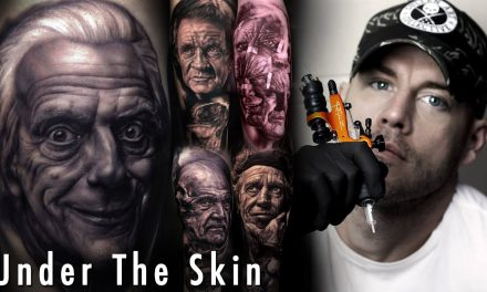 Doc Brown Back to the Future Tattoo – Ralf Nonnweiler   Under the Skin