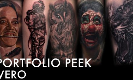 Tattoo Portfolio Peek – Vero