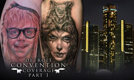 Tattoo Convention Coverage -Detroit Motor City Expo   Part 1 of 3