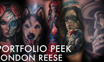 Tattoo Portfolio Peek – London Reese