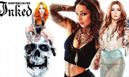 Inked Magazine Photoshoot with Megan Massacre, Teneile Napoli and Cleo Wattenstrom