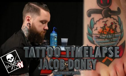 Tattoo Time Lapse – Jacob Doney