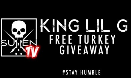 King Lil G, Tito from the Pricks and Sullen Clothing Free Turkey Giveaway