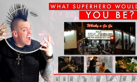 Tiny Talk – Whiskey a GoGo – What Superhero Would You Be?