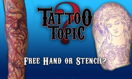 Tattoo Topic – Freehand or Stencil?