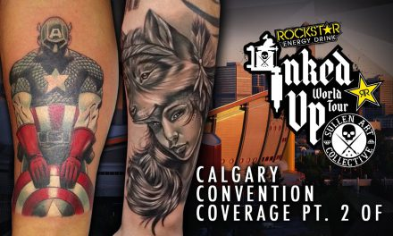Rockstar Energy Drink Inked up Tour Calgary Convention Coverage pt. 2 of 3