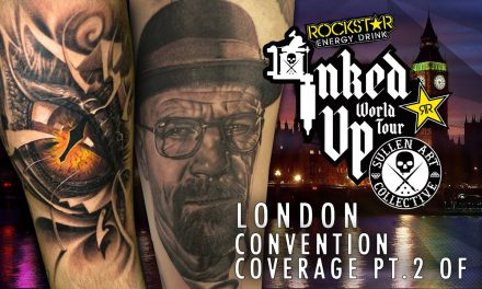Rockstar Energy Drink Inked up Tour London Convention Coverage pt. 2 of 3