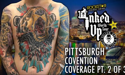Rockstar Energy Drink Inked up Tour Pittsburgh Convention Coverage pt.2  of 3
