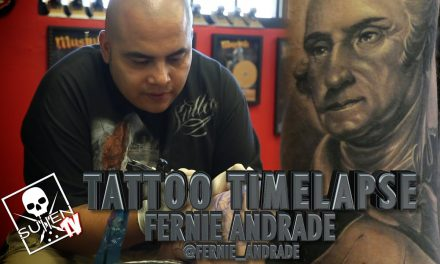 Tattoo Time Lapse – Fernie Andrade