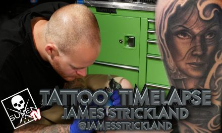Tattoo Time Lapse – James Strickland