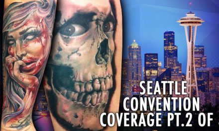 Rockstar Energy Inked Up Tour Tattoo Convention Coverage Seattle part 2 of 3
