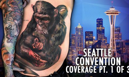 Rockstar Energy Inked Up Tour Tattoo Convention Coverage Seattle part 1 of 3