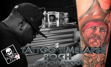 Tattoo Time Lapse – Poch