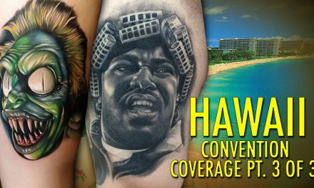 Rockstar Energy Inked Up Tour Tattoo Convention Coverage Hawaii part 3 of 3
